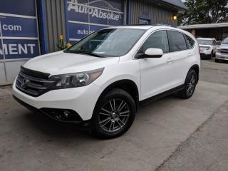 Used 2012 Honda CR-V Ex-l + cuir + toit + caméra for sale in Boisbriand, QC