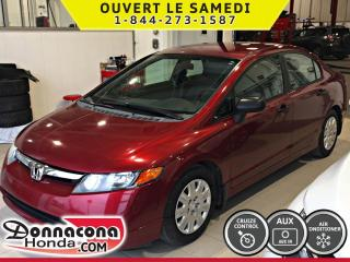 Used 2007 Honda Civic DX-G *AUTOMATIQUE*AIR CLIMATISE* for sale in Donnacona, QC