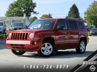 Used 2010 Jeep Patriot LIMITED + 4WD + CUIR + TOIT + BOSTON! for sale in Magog, QC