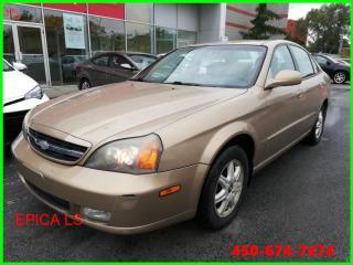 Used 2004 Chevrolet Epica LS ** AUTOMATIQUE GROUPE ÉLECTRIQUE ** for sale in Longueuil, QC