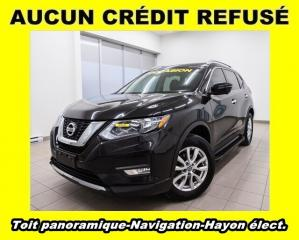 Used 2017 Nissan Rogue SV AWD SIÈGES / VOLANT CHAUFF NAV *TOIT PANO* for sale in Mirabel, QC