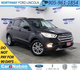 Used 2018 Ford Escape SEL | AWD | NAV | LEATHER | PANOROOF | PWR HATCH | for sale in Brantford, ON