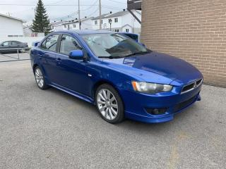 Used 2009 Mitsubishi Lancer manuel for sale in Pointe-Aux-Trembles, QC
