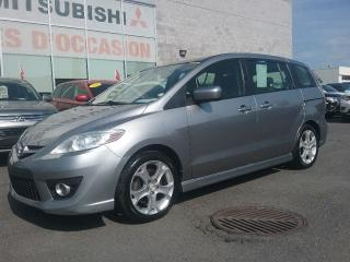 Used 2010 Mazda MAZDA5 GT | TOIT | MAGS | CRUISE | BLUETOOTH | 6 PLACES for sale in St-Hubert, QC