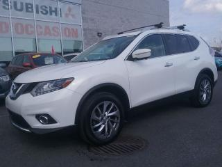 Used 2014 Nissan Rogue SL TECHNOLOGIE | AWD | CUIR | GPS | CAM 360 | MAGS for sale in St-Hubert, QC