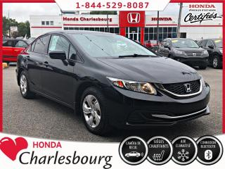 Used 2015 Honda Civic LX AUTOMATIQUE **49 947 KM** for sale in Charlesbourg, QC