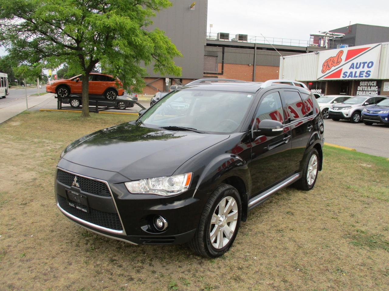 Used 2010 Mitsubishi Outlander GT~V6~AWD~7 PASS ~LEATHER