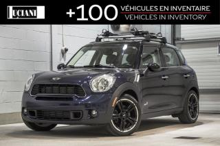 Used 2011 MINI Cooper Countryman 2011 MINI Cooper MANUEL - AWD 4dr S ALL4 for sale in Montréal, QC