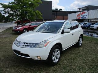 Used 2006 Nissan Murano SL~AWD~HEATED SEATS~SUNROOF~POWER OPTIONS~ for sale in Toronto, ON