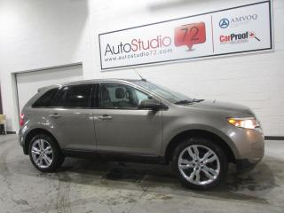 Used 2014 Ford Edge SEL V6 AWD **NAVI**TOIT PANO**CUIR** for sale in Mirabel, QC