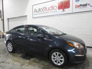Used 2016 Kia Rio LX+ **AUTO**A/C**CRUISE**BLUETOOTH** for sale in Mirabel, QC