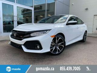 Used 2018 Honda Civic Sedan Si MANUAL SEDAN FULL LOAD for sale in Edmonton, AB