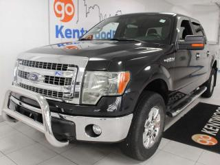 Used 2013 Ford F-150 XLT 4X4 with keyless entry, 3 front seats, and back up cam for sale in Edmonton, AB