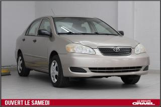 Used 2005 Toyota Corolla AIR CLIMATISÉ  GROUPE ELECTRIQUE for sale in Montréal, QC