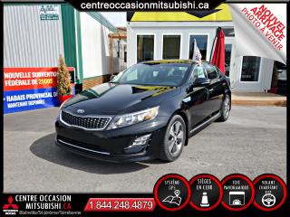 Used 2014 Kia Optima Hybride EX Premium CUIR + TOIT PANORAMIQUE + GPS for sale in Blainville, QC