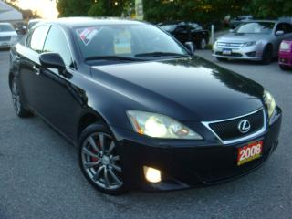 Used 2008 Lexus IS 250 Ultra Premium PKG W/Navigation for sale in Ajax, ON