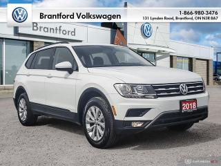 Used 2018 Volkswagen Tiguan Trendline 2.0T 8sp at w/Tip for sale in Brantford, ON