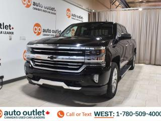 Used 2017 Chevrolet Silverado 1500 High Country, 5.3L V8, 4x4, Crew cab, Navigation, Heated/Cooled leather seats, Backup camera, Sunroof, Bluetooth for sale in Edmonton, AB