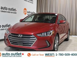 Used 2018 Hyundai Elantra Gls, 2.0L I4, Fwd, Leather heated seats, heated steering wheel, Backup camera, Sunroof, Bluetooth for sale in Edmonton, AB
