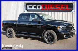 Used 2019 RAM 1500 SLT +EcoDiesel, Allure Noir, Toit+ for sale in Cowansville, QC