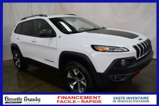 Used 2014 Jeep Cherokee Trailhawk +V6, Navigation, Aucun Carfax+ for sale in Cowansville, QC