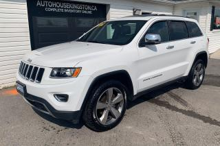 Used 2015 Jeep Grand Cherokee Limited for sale in Kingston, ON