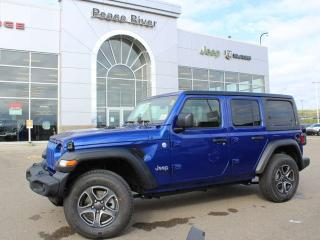 Used 2020 Jeep Wrangler UNLIMITED SPORT for sale in Peace River, AB
