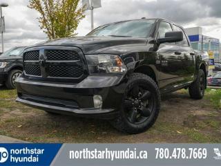 Used 2017 RAM 1500 CREW HEMI/BLACKEDITION/ALLOYS/HITCH/FOGLIGHTS for sale in Edmonton, AB