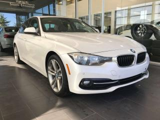 Used 2016 BMW 3 Series 320i xDrive AWD, ACCIDENT FREE, POWER HEATED LEATHER SEATS, KEYLESS IGNITION, NAVI for sale in Edmonton, AB