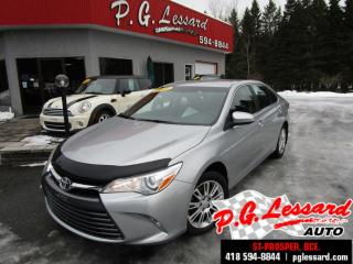 Used 2015 Toyota Camry Le camera bluetooth mags for sale in St-Prosper, QC