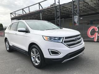 Used 2017 Ford Edge Titanium AWD GPS TOIT ouvrant for sale in St-Eustache, QC