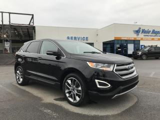 Used 2016 Ford Edge Titanium DVD AWD GPS for sale in St-Eustache, QC