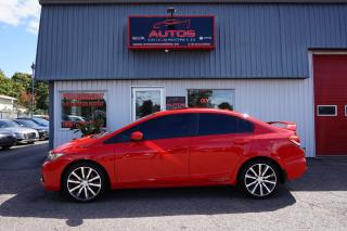 Used 2015 Honda Civic SI VTEC GPS NAVI TOIT OUVRANT CAMERA 90 839 KM !! for sale in Lévis, QC