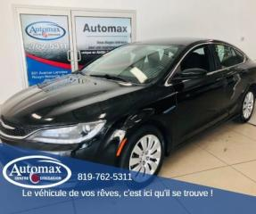 Used 2015 Chrysler 200 LX for sale in Rouyn-Noranda, QC