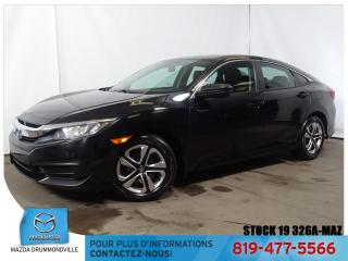 Used 2016 Honda Civic DX|BLUETOOTH|CAMERA|GRÉLEC| for sale in Drummondville, QC