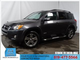 Used 2012 Toyota RAV4 Sport|4X4|3.5L+V6|TOITOUV|MARCHE PIED|MAG| for sale in Drummondville, QC