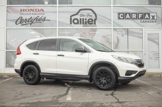Used 2015 Honda CR-V LX***GARANTIE COMPLÈTE MAI 2020*** for sale in Québec, QC
