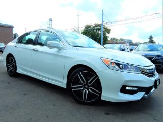 Used 2017 Honda Accord Sport.Automatic.Power Moonroof.Reverse Camera.84KM for sale in Kitchener, ON