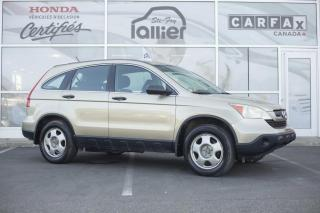 Used 2007 Honda CR-V LX AWD ***JAMAIS ACCIDENTE*** for sale in Québec, QC