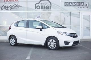 Used 2015 Honda Fit LX ***GARANTIE GLOBALE JUSQU'EN OCTOBRE for sale in Québec, QC