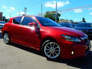Used 2013 Lexus CT 200h Hybrid.Navigation.Camera.Leather/Roof.Bluetooth for sale in Kitchener, ON