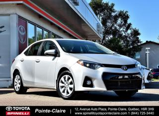 Used 2015 Toyota Corolla **resreve***SPORT 6 VITESSE for sale in Pointe-Claire, QC