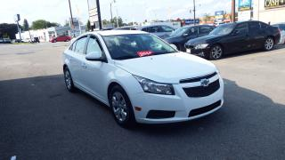 Used 2014 Chevrolet Cruze 1LT/BLUETOOTH/EXTERIOR WHITE/INTERIOR BLACK /$7999 for sale in Brampton, ON