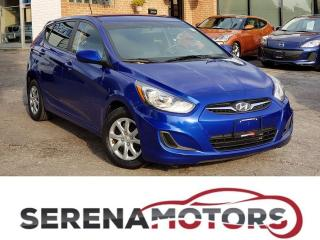 Used 2013 Hyundai Accent GL | MANUAL | HEATED SEATS | NO ACCIDENTS for sale in Mississauga, ON