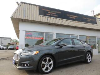 Used 2015 Ford Fusion ALL WHEEL DRIVE,2L ECOBOOST,NAVIGATION,BACK UP CAM for sale in Mississauga, ON