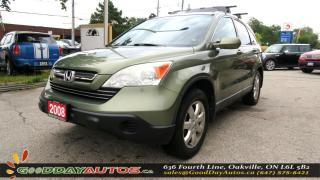 Used 2008 Honda CR-V EX-L|ALLOYS|LOW KM |NO ACCIDENT|LEATHER|SUNROOF for sale in Oakville, ON