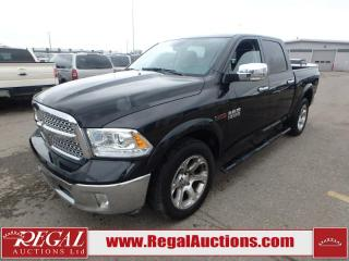 Used 2017 RAM 1500 Laramie Crew CAB SWB 4WD 3.0L for sale in Calgary, AB