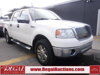 Used 2007 Ford F-150 LARIAT 4S SUPERCREW 4WD for sale in Calgary, AB