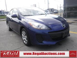 Used 2013 Mazda MAZDA3 GX 4D Sedan for sale in Calgary, AB