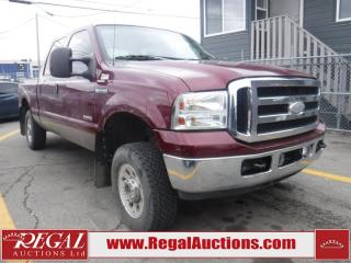 Used 2006 Ford F-250 SD XLT 4D CREW CAB 4WD for sale in Calgary, AB